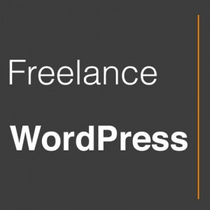Freelance WordPress Logo